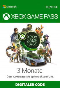 XBOX Games Pass 3 Monate