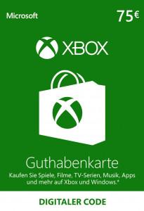 XBOX Guthaben 75 €