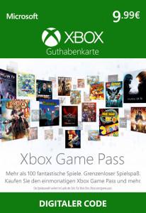 XBOX Games Pass 1 Monat