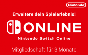 Nintendo Switch Online 3 Monate